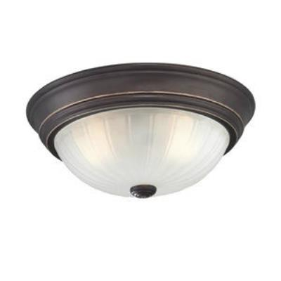 Quoizel Lighting ML183PN Melon - Two Light Flush Mount