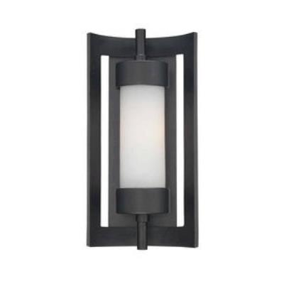 Quoizel Lighting MLN8307K Milan - One Light Small Outdoor Wall Lantern