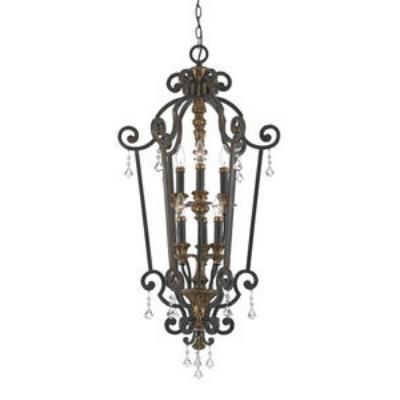 Quoizel Lighting MQ5206HL Marquette - Six Light Cage Chandelier