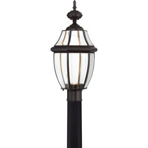 "Newbury Clear - 21.5"" 16W 1 LED Outdoor Large Post Lantern"