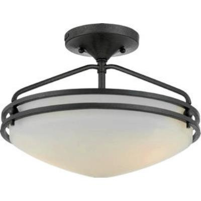 Quoizel Lighting OZ1713IN Ozark - Two Light Semi Flush Mount