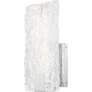 """Platinum Collection Winter - 12"""" 16W 1 LED Wall Sconce"""