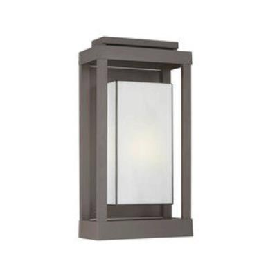 Quoizel Lighting PWL8311WT Powell - One Light Outdoor Wall Sconce