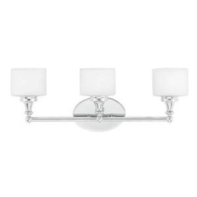 Quoizel Lighting QI8603C Quinton - Three Light Bath Bar