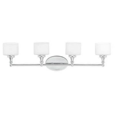 Quoizel Lighting QI8604C Quinton - Four Light Bath Bar
