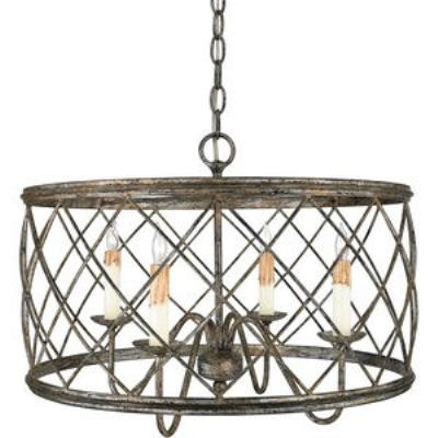 Quoizel Lighting RDY2821CS Dury - Four Light Pendant