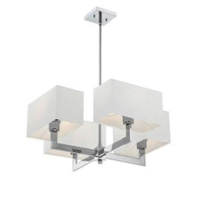 Quoizel Lighting REM5004C Remi - Four Light Chandelier