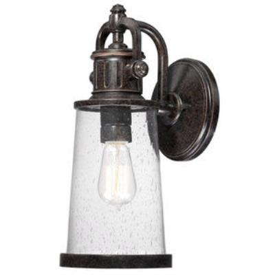 Quoizel Lighting SDN8407IB Steadman - One Light Medium Outdoor Wall Lantern