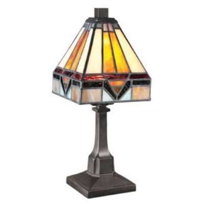 Quoizel Lighting TF1021TVB One Light Desk Lamp