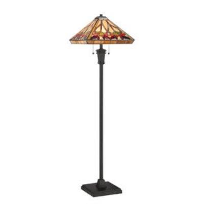 Quoizel Lighting TF1509FVB Ross - Two Light Floor Lamp