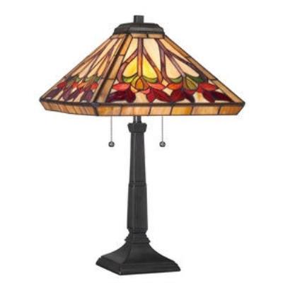 Quoizel Lighting TF1509TVB Ross - Two Light Table Lamp