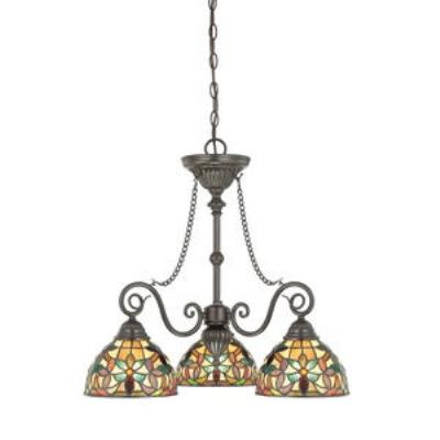 Quoizel Lighting TFKM5103VB Kami - Three Light Chandelier
