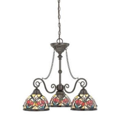 Quoizel Lighting TFLR5103VB Larissa - Three Light Chandelier