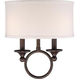 Adams - Two Light Small Wall Sconce