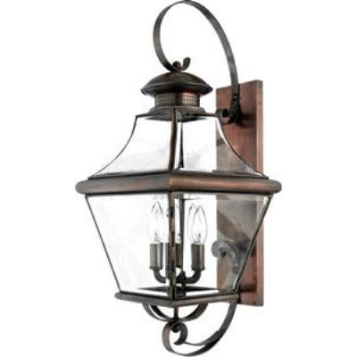 Quoizel Lighting CAR8730AC Carleton - Four Light Large Wall Lantern