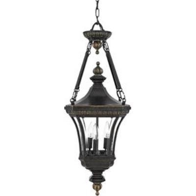 Quoizel Lighting DE1490IB Devon - Three Light Large Hanging Lantern