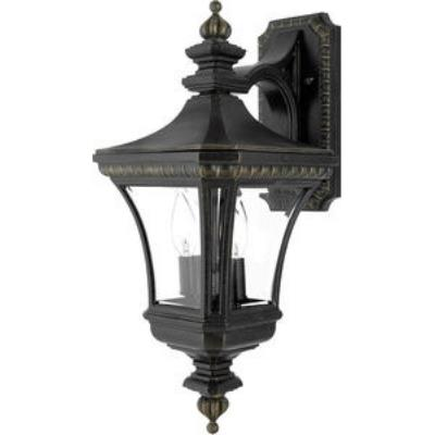 Quoizel Lighting DE8976IB Devon - Two Light Medium Wall Lantern