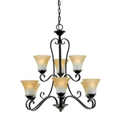 Quoizel Lighting DH5009PN Duchess - Nine Light Chandelier