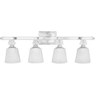 Quoizel Lighting DX8604C Deluxe - Four Light Bath Bar