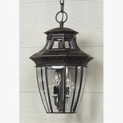 Quoizel Lighting GT1700IB Georgetown - Three Light Medium Hanging Lantern