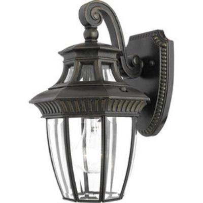 Quoizel Lighting GT8980IB Georgetown - One Light Small Wall Lantern