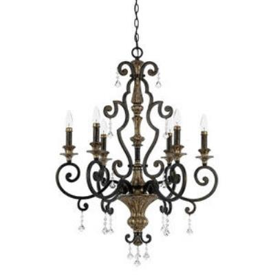 Quoizel Lighting MQ5006HL Marquette - Six Light Chandelier