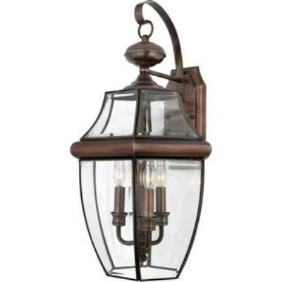 Quoizel Lighting NY8318AC Newbury - Three Light Large Wall Lantern