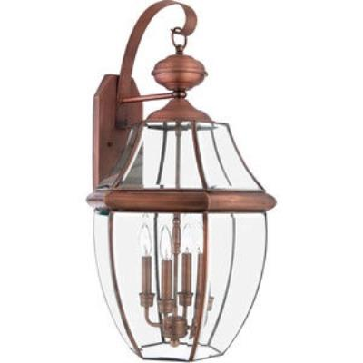 Quoizel Lighting NY8339AC Newbury - Four Light Extra Large Wall Lantern