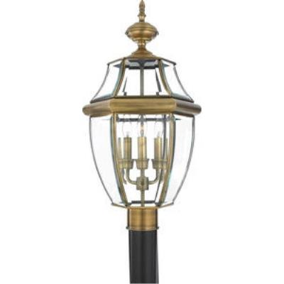Quoizel Lighting NY9043A Newbury - Three Light Large Post Lantern