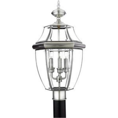 Quoizel Lighting NY9043P Newbury - Three Light Large Post Lantern