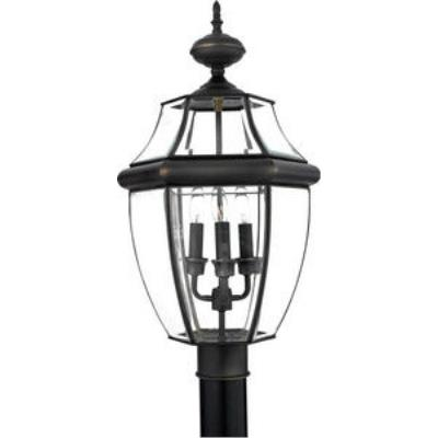 Quoizel Lighting NY9043Z Newbury - Three Light Large Post Lantern