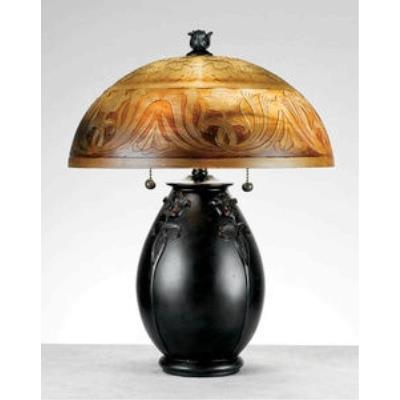 Quoizel Lighting QJ6781TR Glenhaven - Two Light Table Lamp