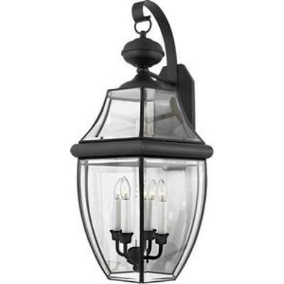 Quoizel Lighting NY8339K Newbury - Four Light Extra Large Wall Lantern