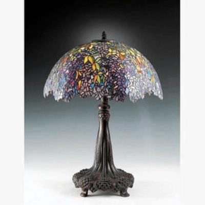 Quoizel Lighting TF6034R Laburnum - Three Light Table Lamp
