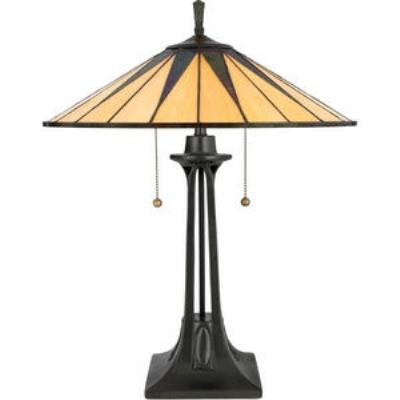 Quoizel Lighting TF6668VB Gotham - Two Light Table Lamp