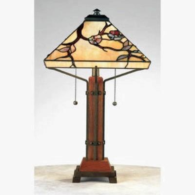 Quoizel Lighting TF6898M Grove Park - Two Light Table Lamp