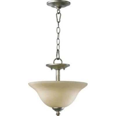 Quorum Lighting 2810-13-58 Spencer - Two Light Semi-Flush Mount