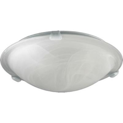 Quorum Lighting 3000-12-6 Agate - Two Light Flush Mount