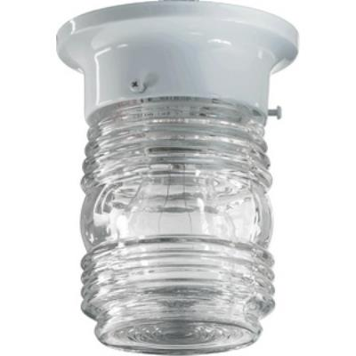 Quorum Lighting 3009-3-6 Jelly Jar - One Light Flush Mount