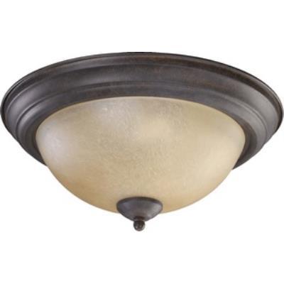 Quorum Lighting 3073-13-44 Two Light Flush Mount