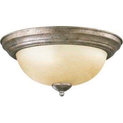 Quorum Lighting 3073-13-58 Two Light Flush Mount
