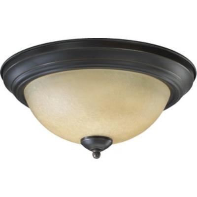 Quorum Lighting 3073-13-95 Two Light Flush Mount