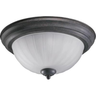 Quorum Lighting 3074-15-44 Three Light Flush Mount