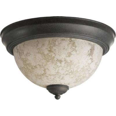Quorum Lighting 3076-11-44 Two Light Flush Mount