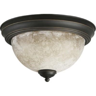 Quorum Lighting 3076-13-95 Two Light Flush Mount