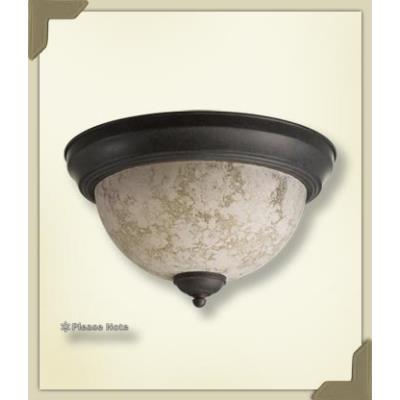 Quorum Lighting 3076-15-44 Three Light Flush Mount