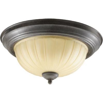 Quorum Lighting 3077-13-44 Two Light Flush Mount