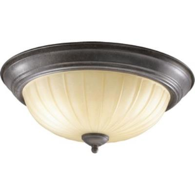 Quorum Lighting 3077-15-44 Three Light Flush Mount