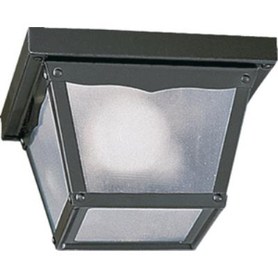 Quorum Lighting 3080-7-15 One Light Outdoor Cage Flush Mount