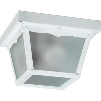Quorum Lighting 3080-7-6 One Light Outdoor Cage Flush Mount